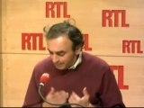 Eric Zemmour : Quand le militaire français file à l'anglai