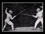L'escrime en animation au 19è siècle