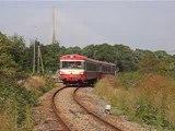 X4555 quitte la gare de Honfleur en 2004