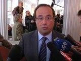 François Hollande répond à Frédéric Lefebvre