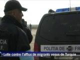 Des garde-frontières européens à la frontière Grèce-Turquie