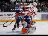 New York Islanders vs Ottawa Senators  Highlights 11/04/2010