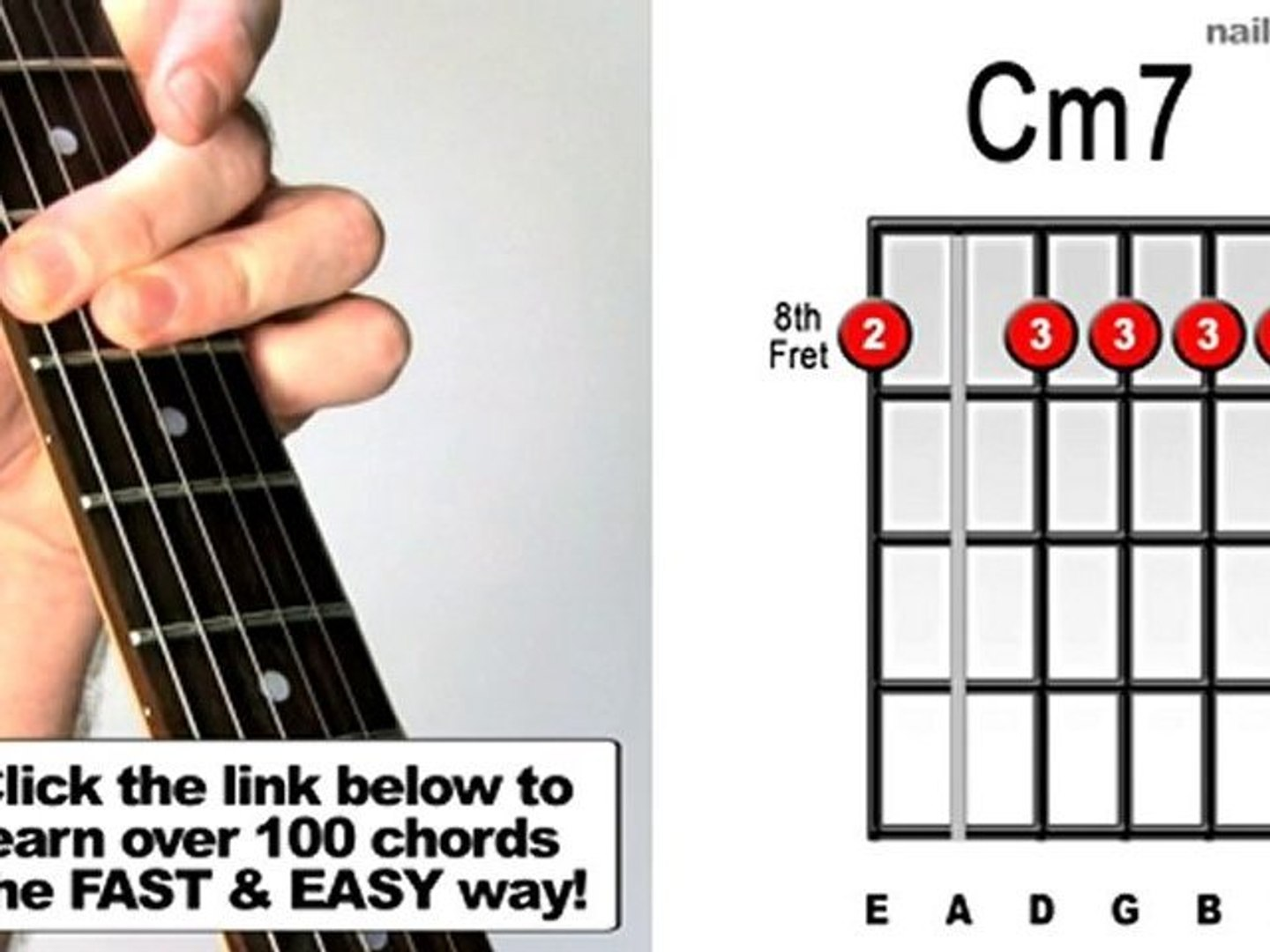 Cm15   How to Play Guitar Chords Fast & Easy The Bee ...