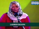 Lauren Booth, belle-sœur de Tony Blair, convertie à l'Islam