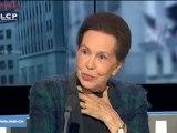 """Invitée de l'émission """"Parlons-en"""",  Marie-France Garaud précise son rôle auprès de Jacques Chirac, Premier ministre ."""