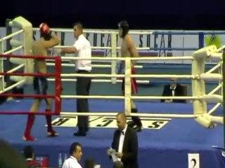 Wojciech Kosowski vs Dzmitry Valent ME K-1 2010