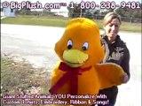 BigPlush.com Giant stuffed plush duck ducky large jumbo mad