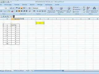 Visionnez les Cours Vidéo de R�f�rence absolue Cours Excel