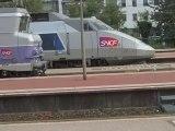 Quelques trains en Rhône Alpes : à Belleville & à Lyon