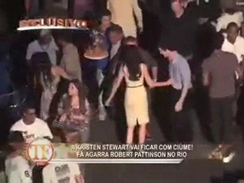 Robert Pattinson & Kristen Stewart Filming In Brazil