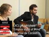"""LES LIVES DE PURE   Cocoon Live Acoustique """"Empire state of"""