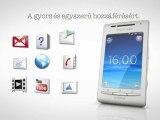 Sony Ericsson Xperia X8 bemutató