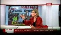 LE 22H,Marie Georges Buffet, ancienne Ministre, députée PCF de Seine-Saint-Denis