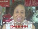 Milton Ruben Toyota Augusta GA No Complaints Zone