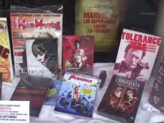 Movies 2000 - Dédicace de Vincent Lecrocq - Dédicace de Vincent Lecrocq pour la sortie DVD de Survivant(s) 1/2