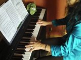 Mélodie ..UNE HISTOIRE QUI SE FINIT BIEN..  REPERTOIRE série 3    (8 mois piano..   Méthode Colin.