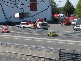 Gp camion Magny-cours 2011 - Essais qualificatifs legends cars A vidéo 1