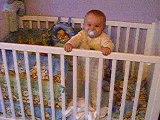 Enzo dans son lit.....