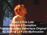 Eric Lotz Createur du Nouveau Generique Original du Journal Le Furet Mulhousien