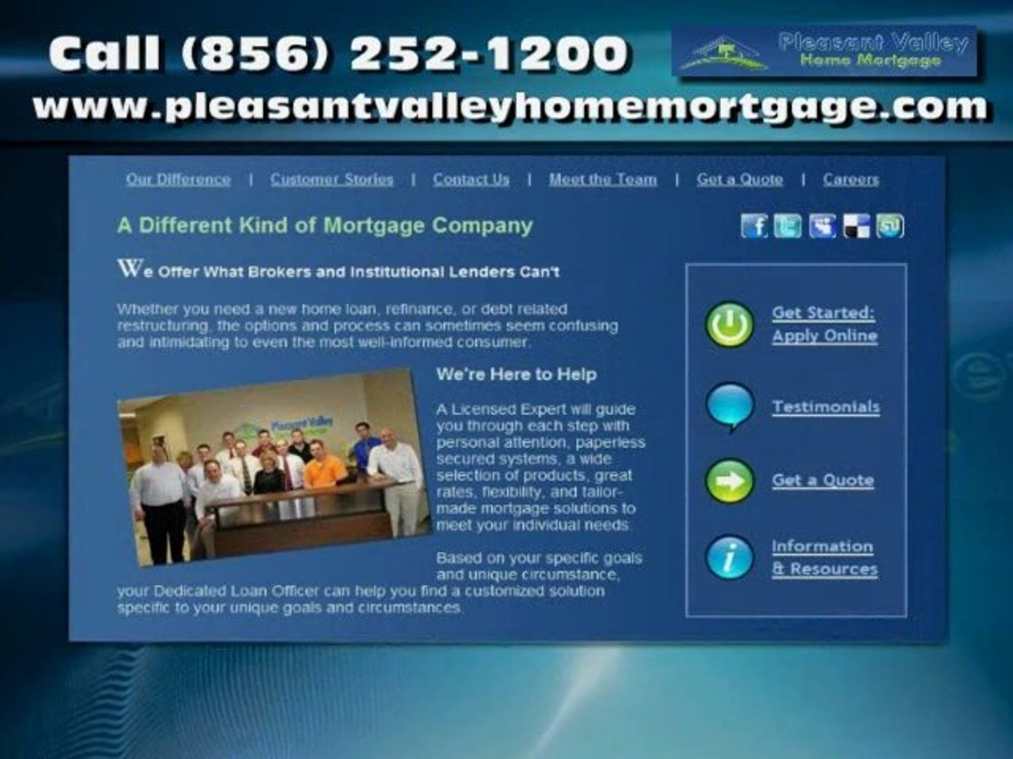 Mortgage Loans in Moorestown NJ - Pleasant Valley Home Mortgage