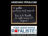 14 juillet - Prise de la Bastille - Révolution française : Démocratie royale