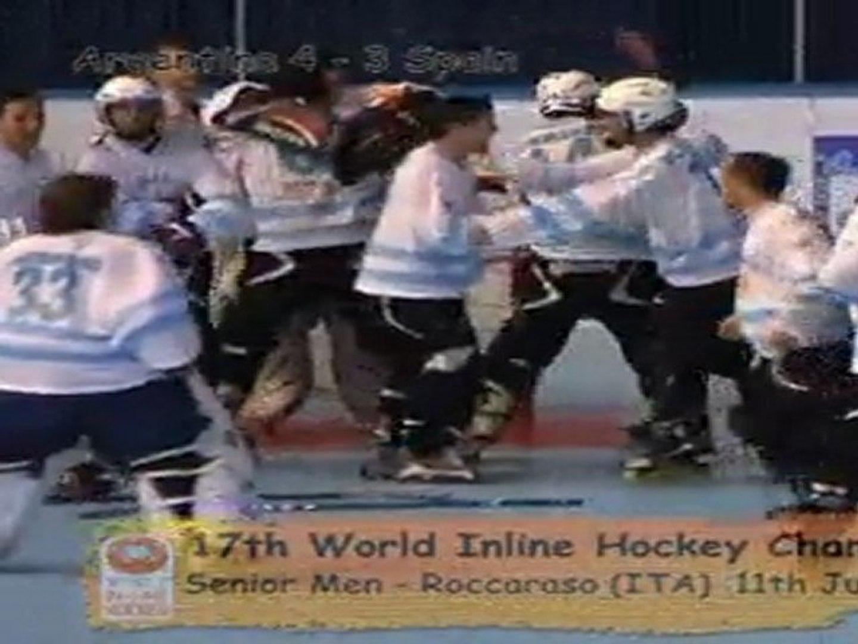 Senior Men - Roccaraso 2011 - Day 1 -  World in Line Hockey Championships (2011 july 11th)