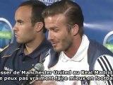 Beckham va rejouer face au Real Madrid !