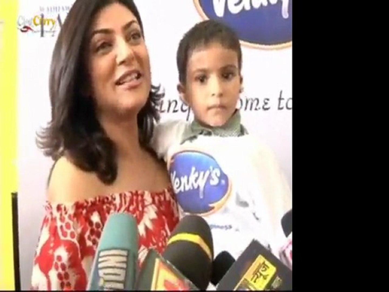 Sushmita Sen At Venky's NGO