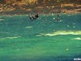 kite surfing at the beach Almanarre - Kite surf à Hyères - Giens