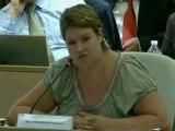 AP 01/07/2011 - Intervention de Stéphanie PERNOD BEAUDON sur le Développement des formations professionnelles et COM Apprentissage 2011 - 2015