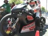 Moto Maxiscoot.com équipé du kit MXS Racing 90cc (prototype) en run au Scooter Power à Thenay
