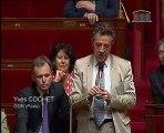 Régulation des prix du pétrole, question d'Yves Cochet 29 juin 2011