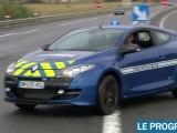 La Mégane RS de la gendarmerie est arrivée dans la Loire
