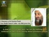 Un message aux Européens par le cheikh Oussama ben Laden (qu'Allah le protège)