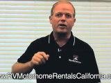 Corona RV Rentals - RV Rental in California - Southern California RV Rentals - RV Motorhome Rentals