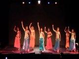 Sherazade Bellydance et ses élèves débutantes - Gala fin d'année Cours de Danse Orientale