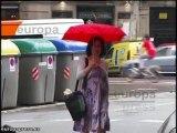 Bajada de temperaturas en Barcelona