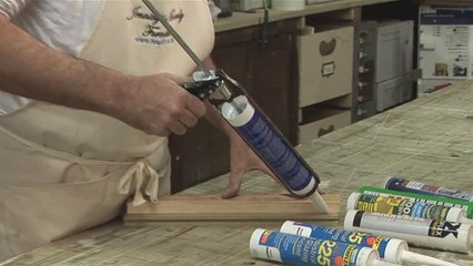How To Operate A Silicone Sealant Gun