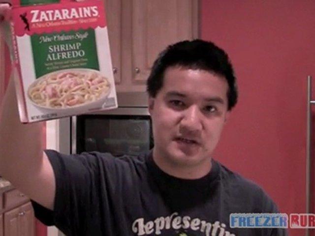 Zatarain's Shrimp Alfredo Video Review: Freezerburns (Ep441)