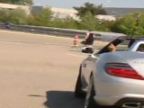 Mercedes-Benz MercedesCup 2011 Tennis players are testing the SLK Roadster Footage 1