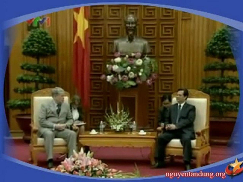 Thủ tướng Nguyễn Tấn Dũng tiếp thứ trưởng ngoại giao Liên bang Nga