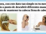 Video tratamiento natural para el cabello - remedios caseros para el cabello