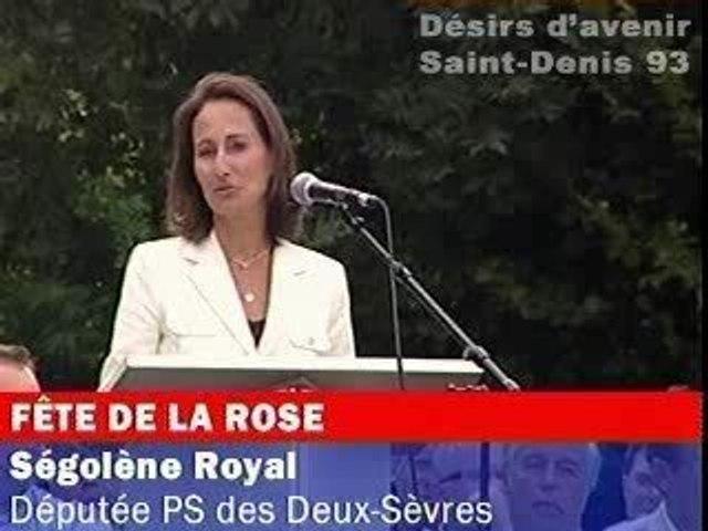 Ségolène Royal : discours de Frangy