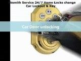 Locksmith Service 24/7 Home Locks change Car Lockout & Key