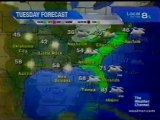 TWC Satellite Local Forecast from January 2009 Daytime #15