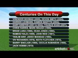 Cricket Video News - On This Day - 11th March - Lara, Kumble, Harbhajan  - Cricket World TV