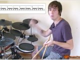 Fun & Fast Linear Drum Lick Or Drum Fill  - Free Drum Lesson