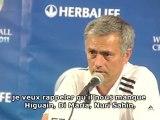 Mourinho après LA Galaxy - Real Madrid (1-4)