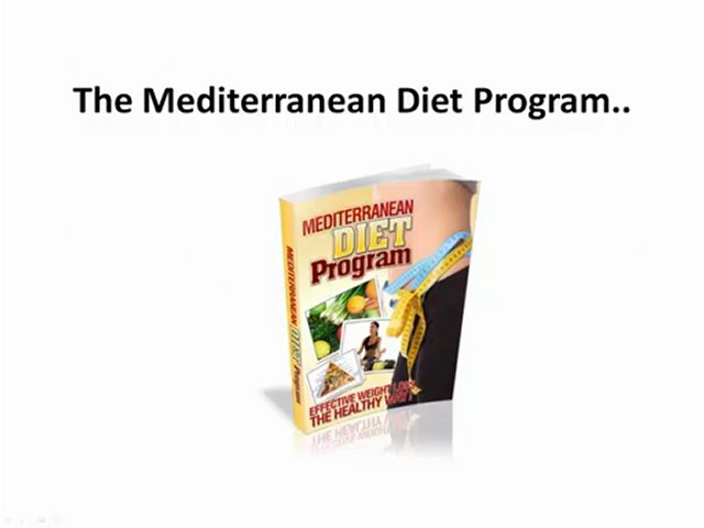MediterraneanDietSystem.com – Eating Healthy