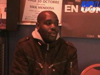 """ITW Nakk Mendosa : """"Je n ai pas besoin du rap pour vivre"""""""